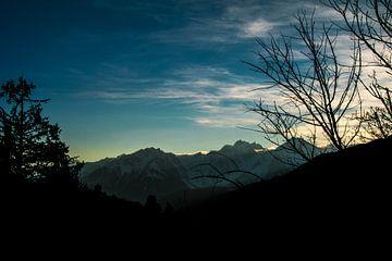 Blauwe Luchten Franse Alpen