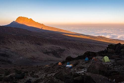 Kilimanjaro bij zonsondergang