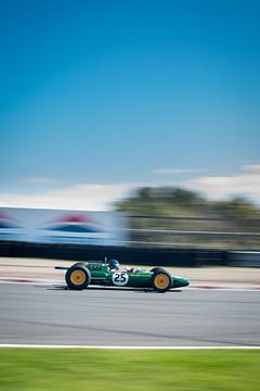 Lotus 25 R4 1962 sur Arjen Schippers