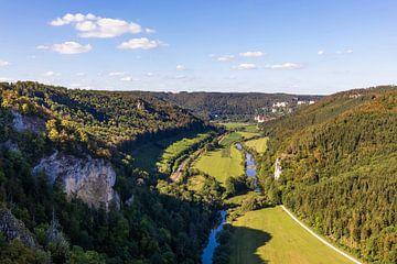 Beuronklooster in het natuurpark van de Boven-Donau van Werner Dieterich