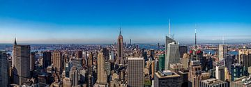 Panorama de New York sur Reinier Snijders