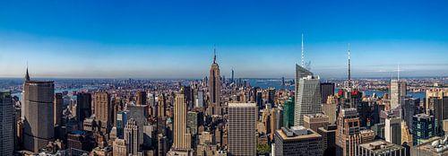 New York Panorama van Reinier Snijders