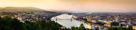 Panorama Boedapest von Björn Jeurgens