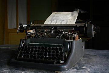 Typmachine van jordy van der horst