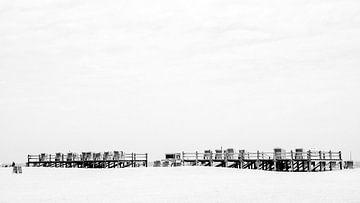 Mehr Strandkörbe am Meer von Heiko Westphalen