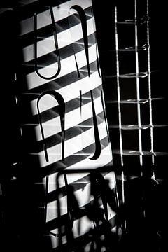 luxaflex fotoposter of  wanddecoratie zwart wit