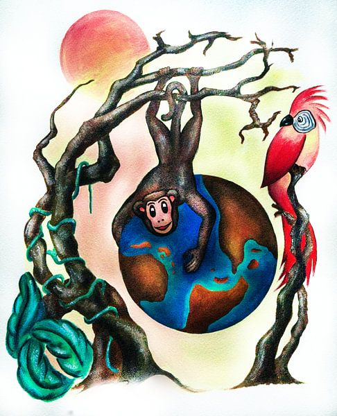 Save Our Planet No. 2 von Petra Rivers