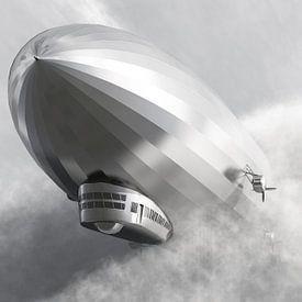 Dirigeable Zeppelin LZ 126 sur Max Steinwald