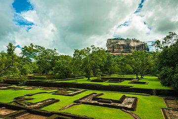 Sigiriya Rock Sri Lanka von Thijs van Laarhoven