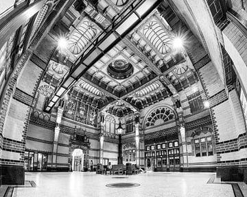 Groningen hoofdstation (zwart-wit) sur Iconisch Groningen