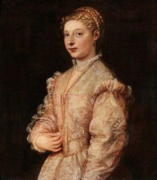 Porträt einer jungen Frau, Titiaan