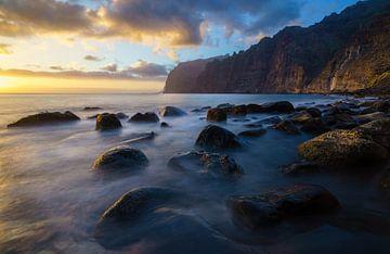 Los Gigantes sunset van Steven Driesen
