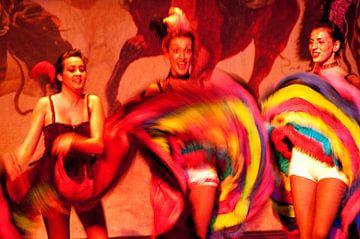 Cancan danseressen van Eye to Eye Xperience By Mris & Fred