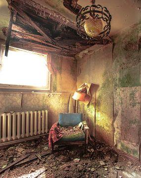 Abgelaufenes Hotelzimmer von Olivier Van Cauwelaert