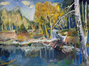 Landschaft, LEO PUTZ, Um 1900