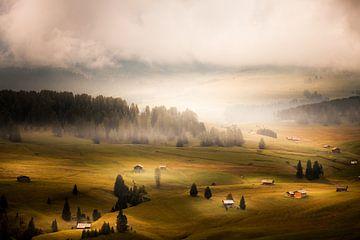 Alpe di Siusi von Juul Hekkens
