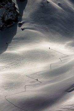 Ski touren in Vorarberg. St Anton. van Hidde Hageman