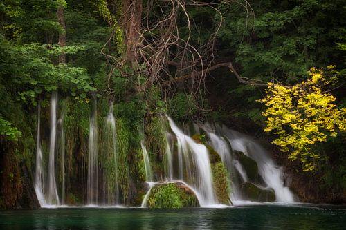 Watervallen in Plitvice I