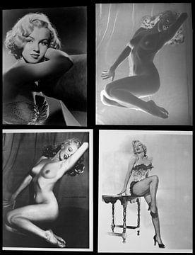 Marilyn Monroe, seltene sexy Bilder und Negative von Atelier Liesjes