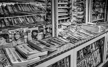 Krantenkiosk in Berlijn von Klaas Leussink