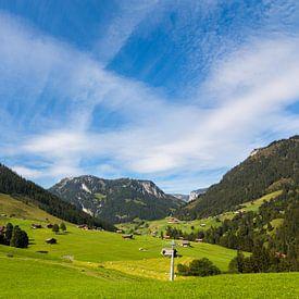 Mountain Landscape Zwitserland van Remko Bochem