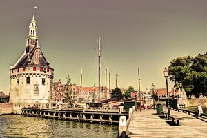 Hoorn Hollande du Nord Pays-Bas Port
