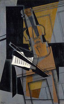 Die Geige, Juan Gris