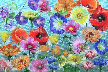 Blumenmeer van christine b-b müller