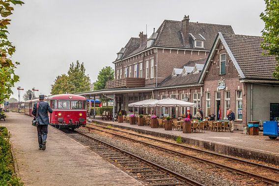 De Railbus van de Miljoenenlijn in Simpelveld
