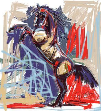Paard Rising High van Go van Kampen