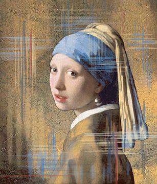 Meisje met de parel van Lia Morcus