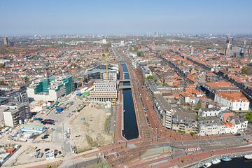 Delft, Übersicht Railzone Bereich Frühjahr 2020 von Willem de Bie