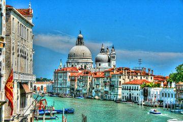 Grand Canal Venetië van Rob Handgraaf