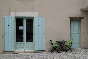 Restaurant in Frankreich von Birgitte Bergman