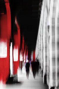 Centraal Station Antwerpen van Ingrid Van Damme fotografie