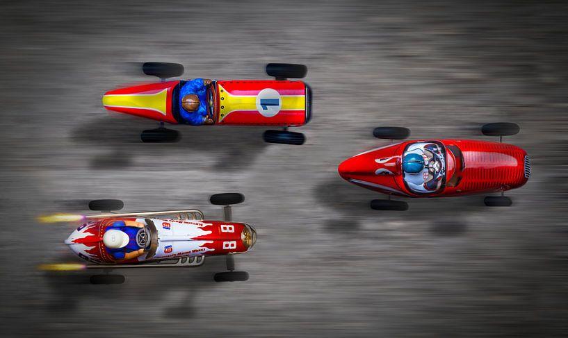 auto wedstrijd van Rudy Umans
