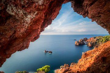 Natuurlijk venster op Cap Dramont van Yannick Lefevre