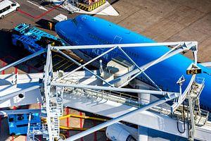 KLM Boeing 747 am Tor von Schiphol von Jeffrey Schaefer