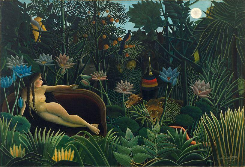 Henri Rousseau. Le Rêve van 1000 Schilderijen