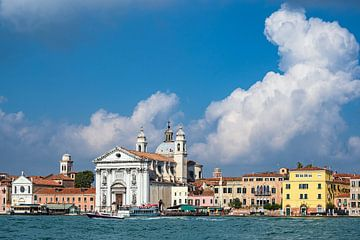 Blick auf die Kirche Santa Maria del Rosario in Venedig von Rico Ködder