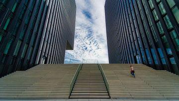 The Hyatt stairs van Kilian Schloemp