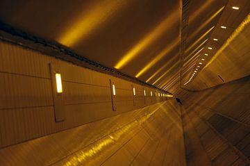 Maastunnel, Rotterdam van Andrew Chang
