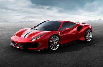 Ferrari 488 pista sur