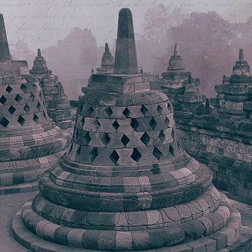 Stupa Borobudur Indonésie