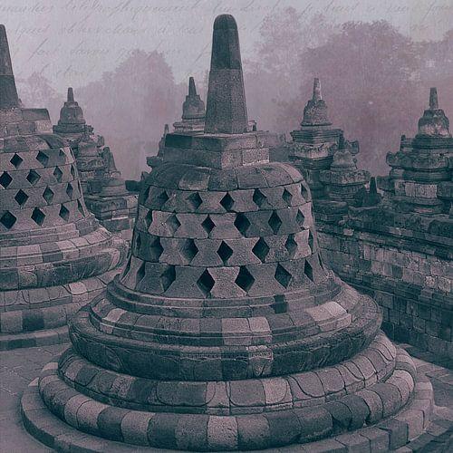 Stupa Borobudur Indonesië