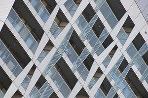 Architectuur van Calypso in Rotterdam