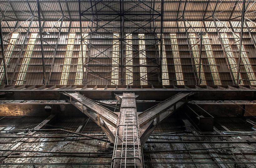 Industrial hall van Olivier Photography