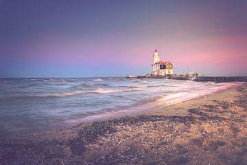 Sunset waves (Marken) sur Alessia Peviani