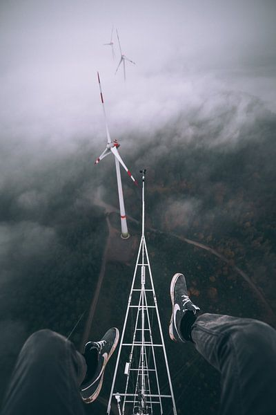 Above the clouds von Flave_de