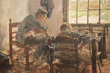 Atelier de cordonnier, Max Liebermann